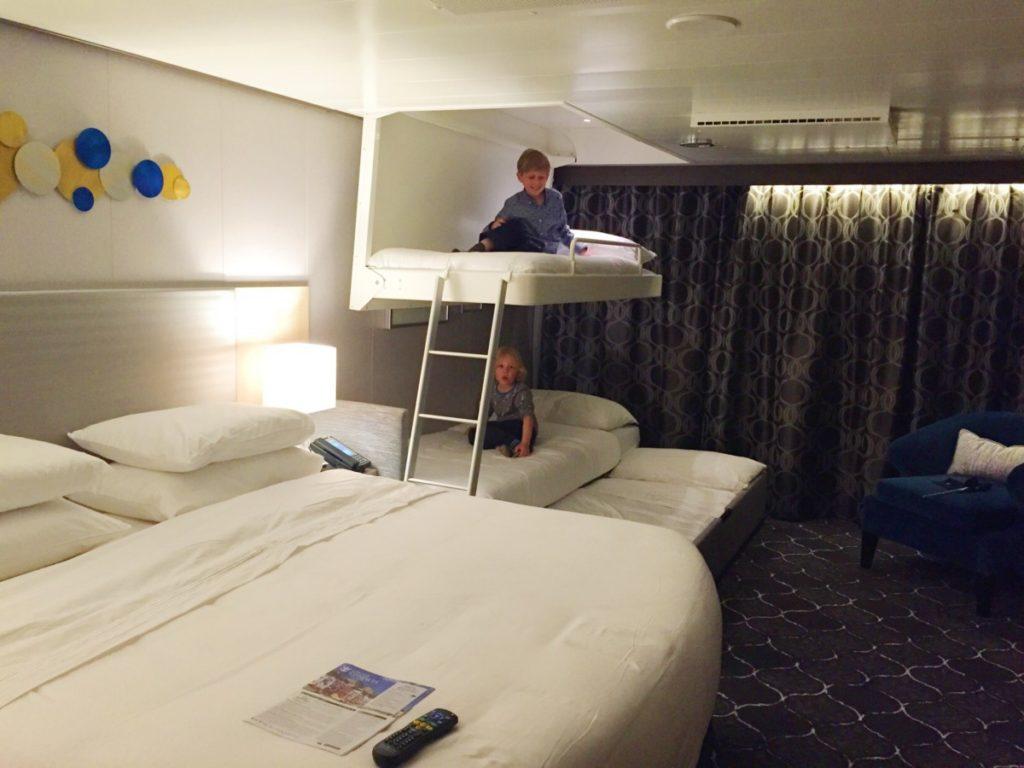 Double Sofa Bed Royal Caribbean