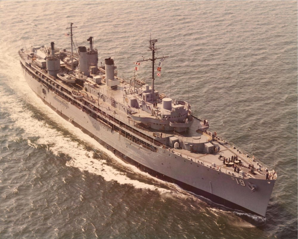 U.S.S. Yosemite (AD-19) - August 1974 - June  1978 - Home Port - Mayport, Fl.jpg