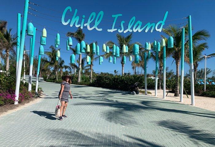 chill island entrance
