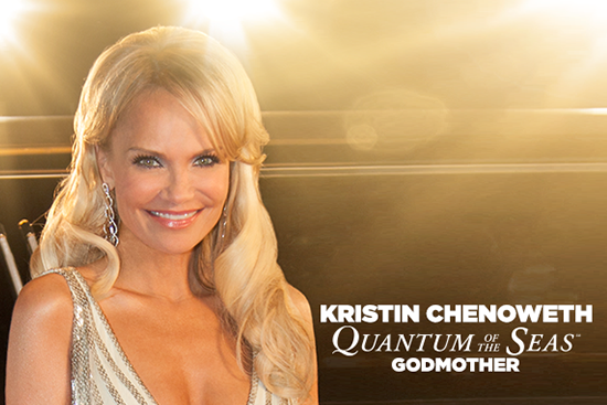 Kristin Chenoweth godmother