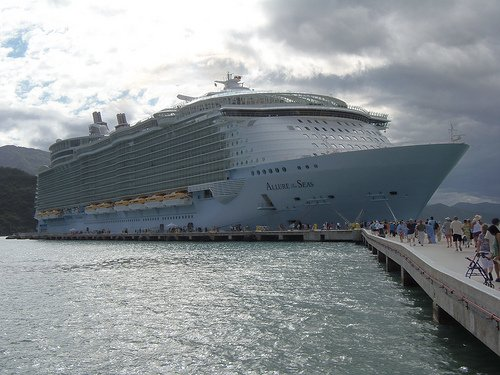 Royal Caribbean To Base Allure Of The Seas In Barcelona In - Mediterranean cruise 2015