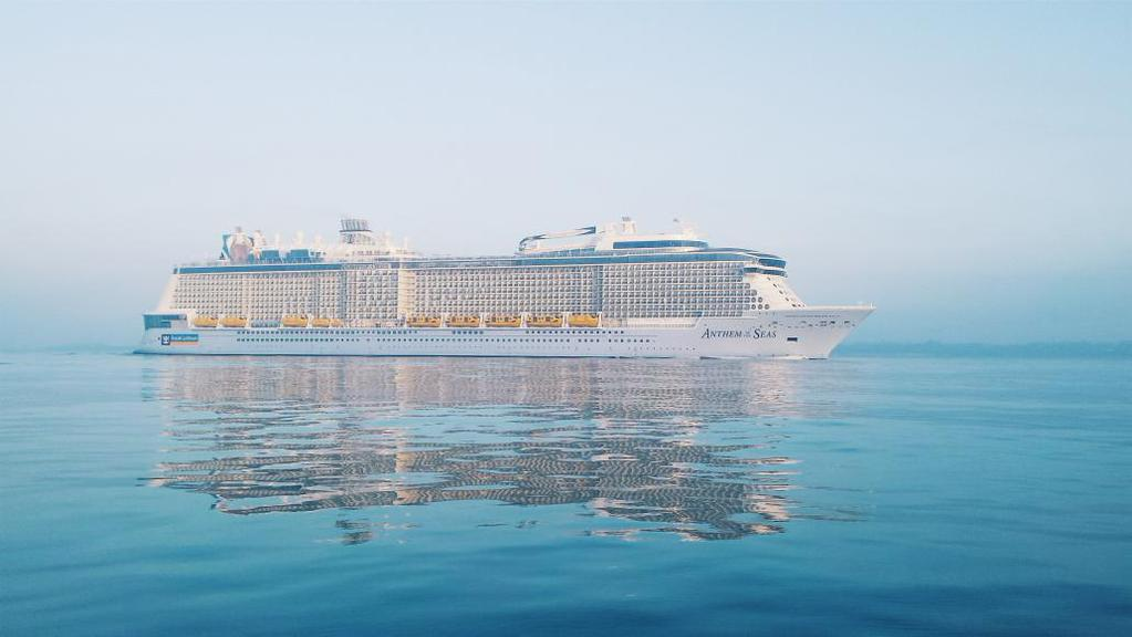 Royal Caribbean S Anthem Of The Seas Arrives In