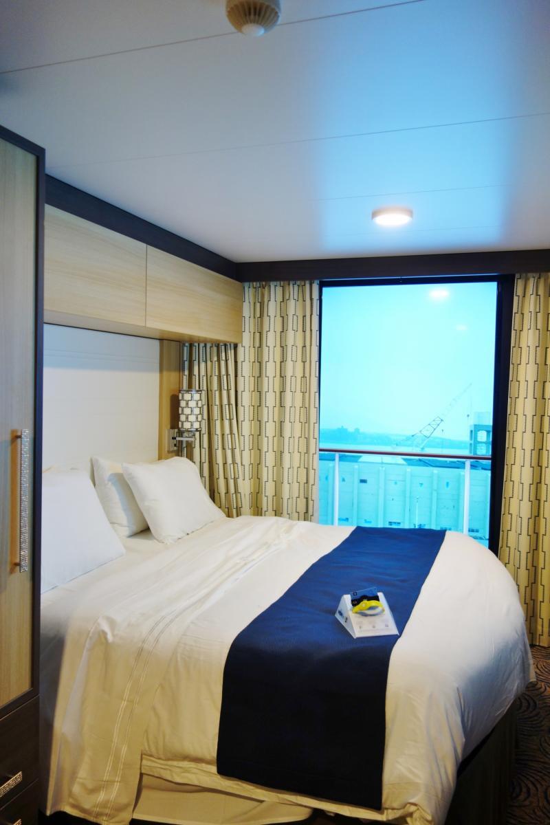 8 days of Virtual Balcony Views on Quantum of the Seas ...