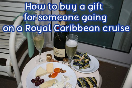 How to buy a gift for someone going on a royal caribbean cruise
