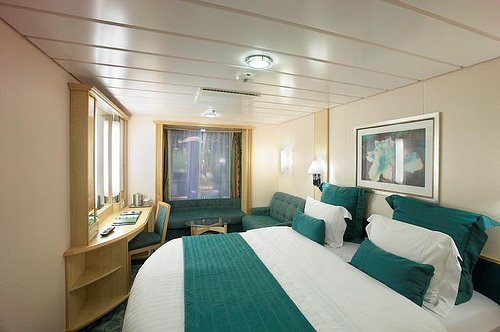 While The Room Has No View Outside Ship It Does Provide Something To Look At With Great Opportunities For People Watching As Well A Vantage