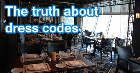 First Time Cruisers The Truth About Dress Codes Royal
