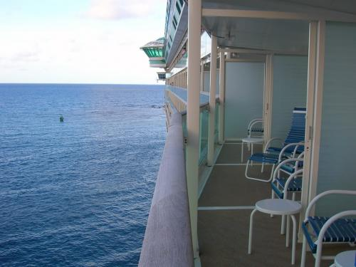 Royal Caribbean Secrets Opening The Balcony Dividers