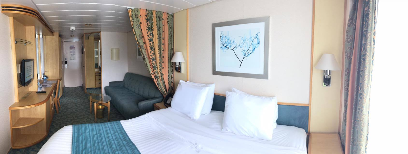 Freedom of the seas renovations 2015 - Independence Of The Seas Category D3 Balcony Stateroom Photo Tour