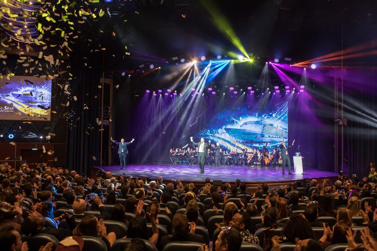 Royal Caribbean Takes Delivery Of Symphony Of The Seas