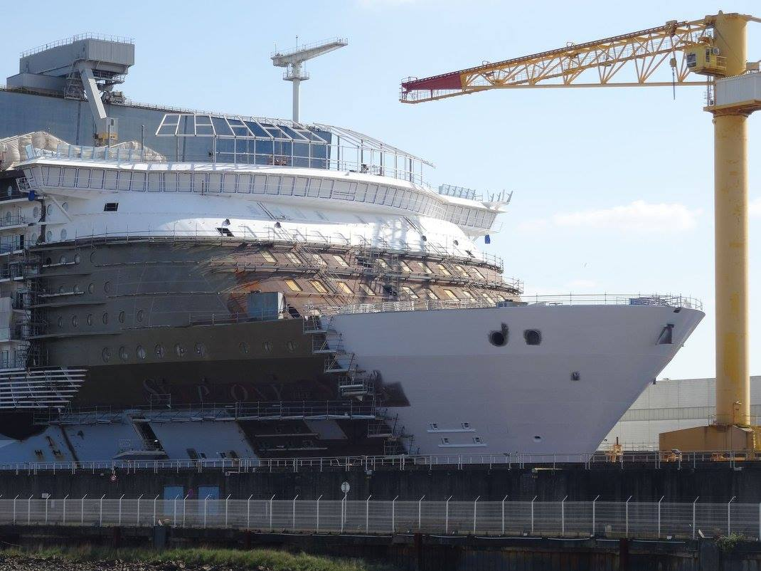 Symphony Of The Seas Construction Photo Update Royal