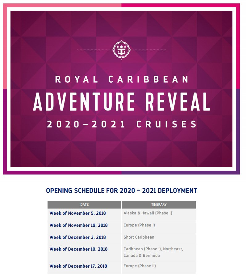 Cruise Ship Dry Dock/Upgrade Schedules for Cruise Lines in ...