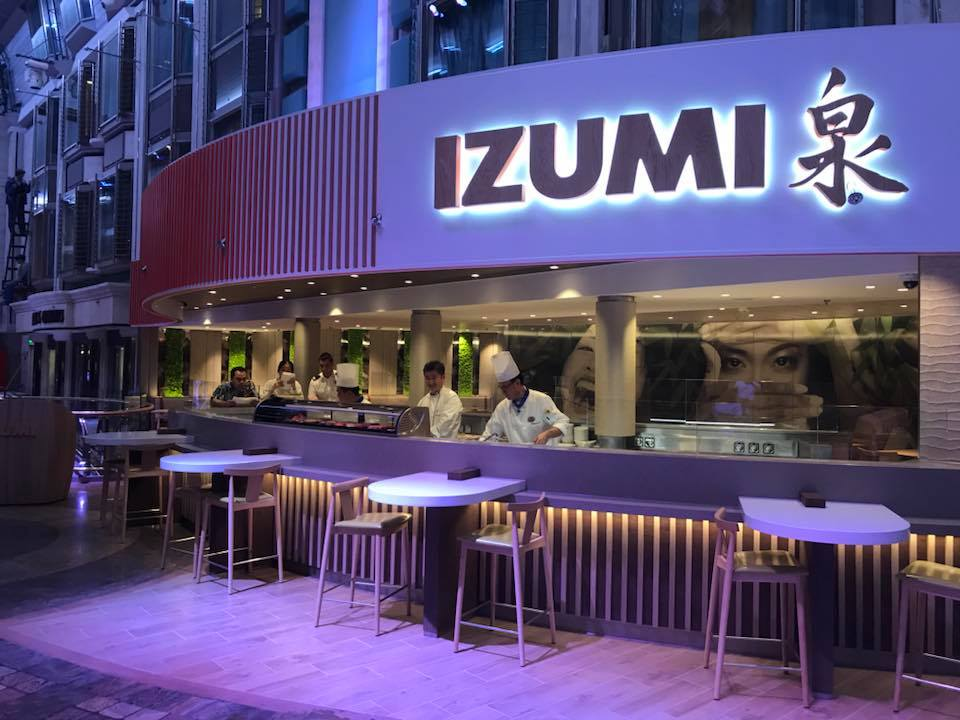 First look at menu and prices for Izumi restaurant on ...