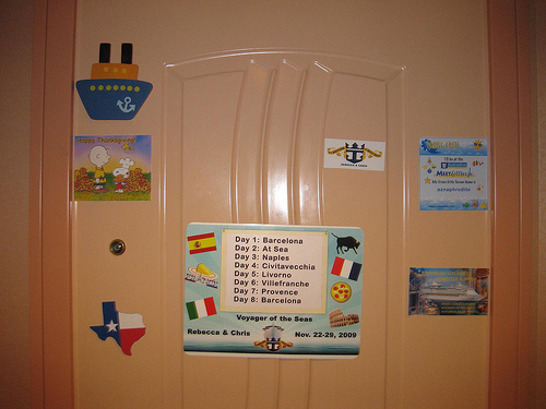 Royal Caribbean Door Decorations