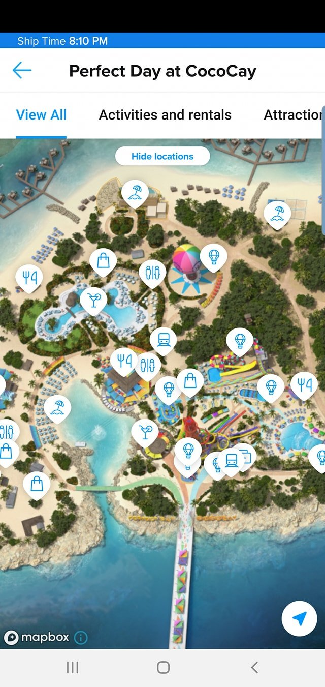 Royal Caribbean updates app to add location tracking at
