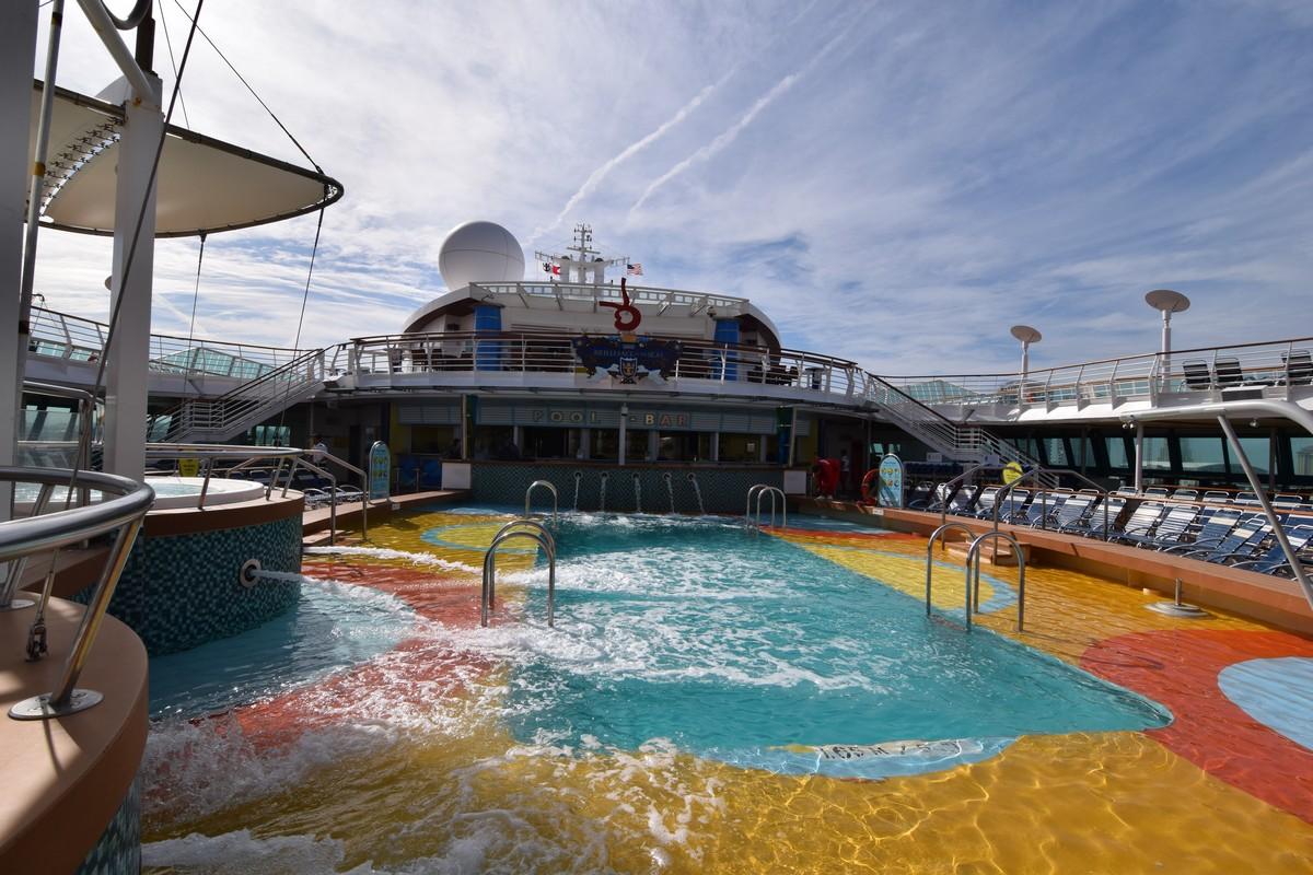 Royal Caribbean Spa Embarkation Day