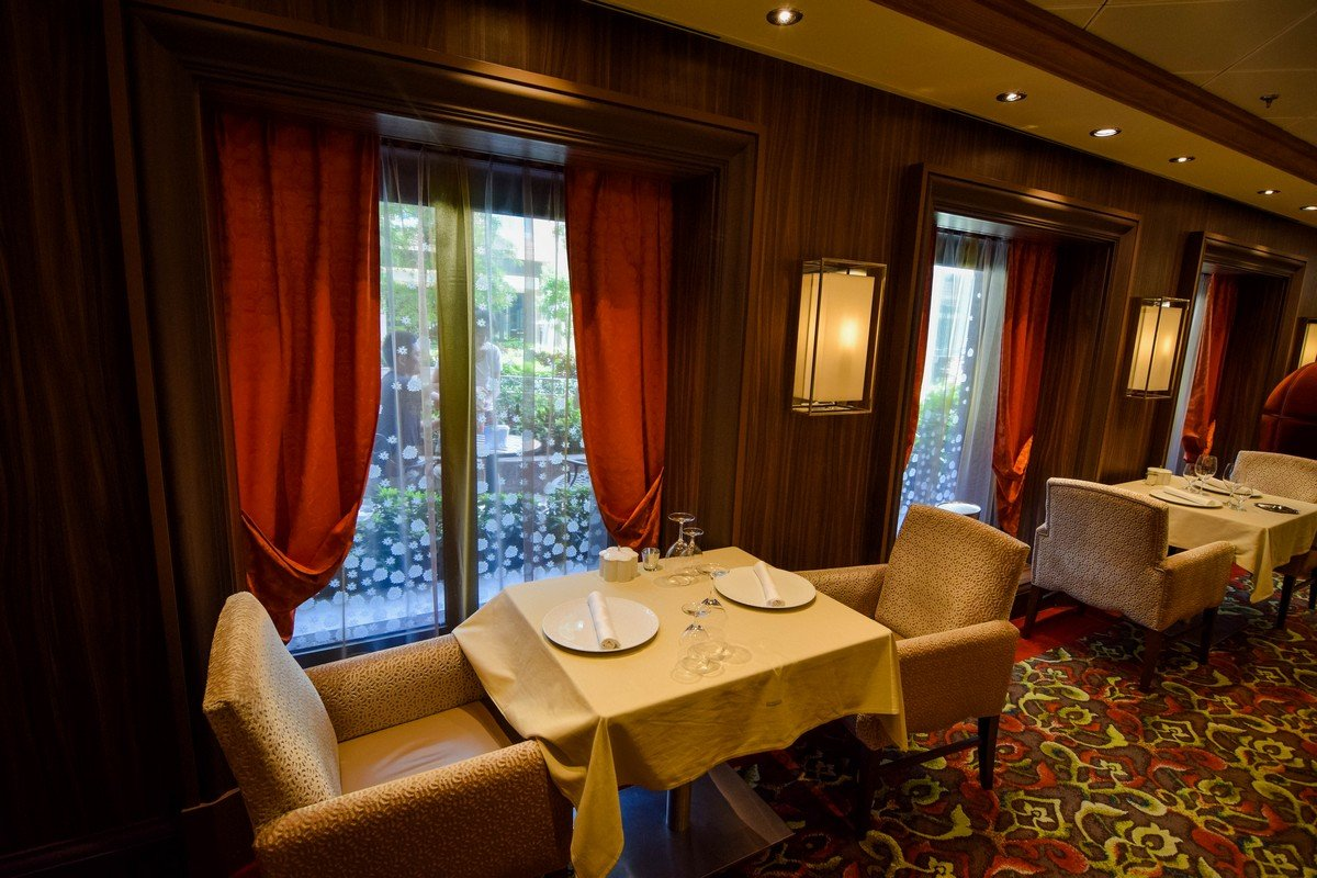 restaurant review 150 central park on harmony of the seas royal