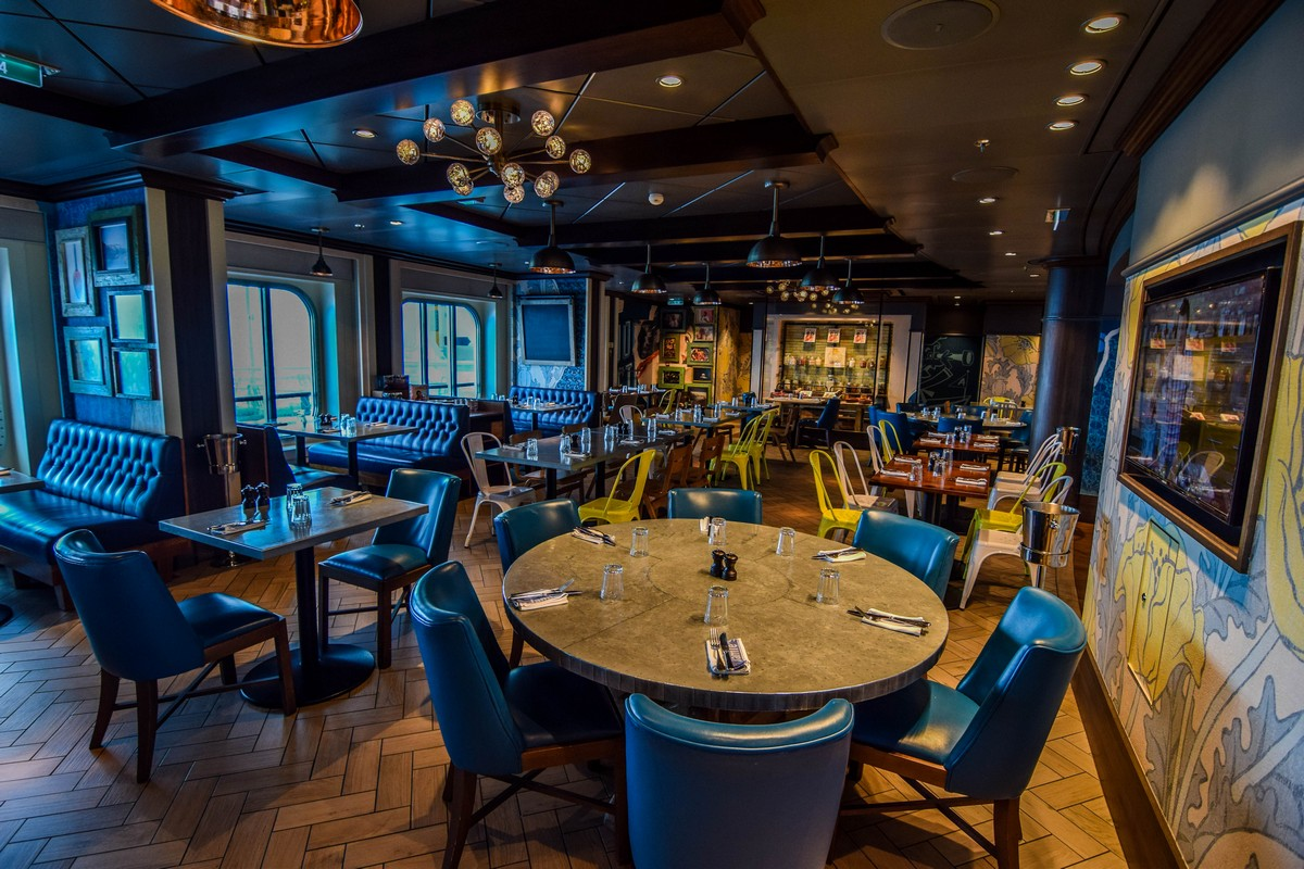 restaurant review jamie s italian on anthem of the seas royal instead you have a design created by jamie oliver that focuses on the simple yet refined approach oliver takes in every aspect of the dining experience