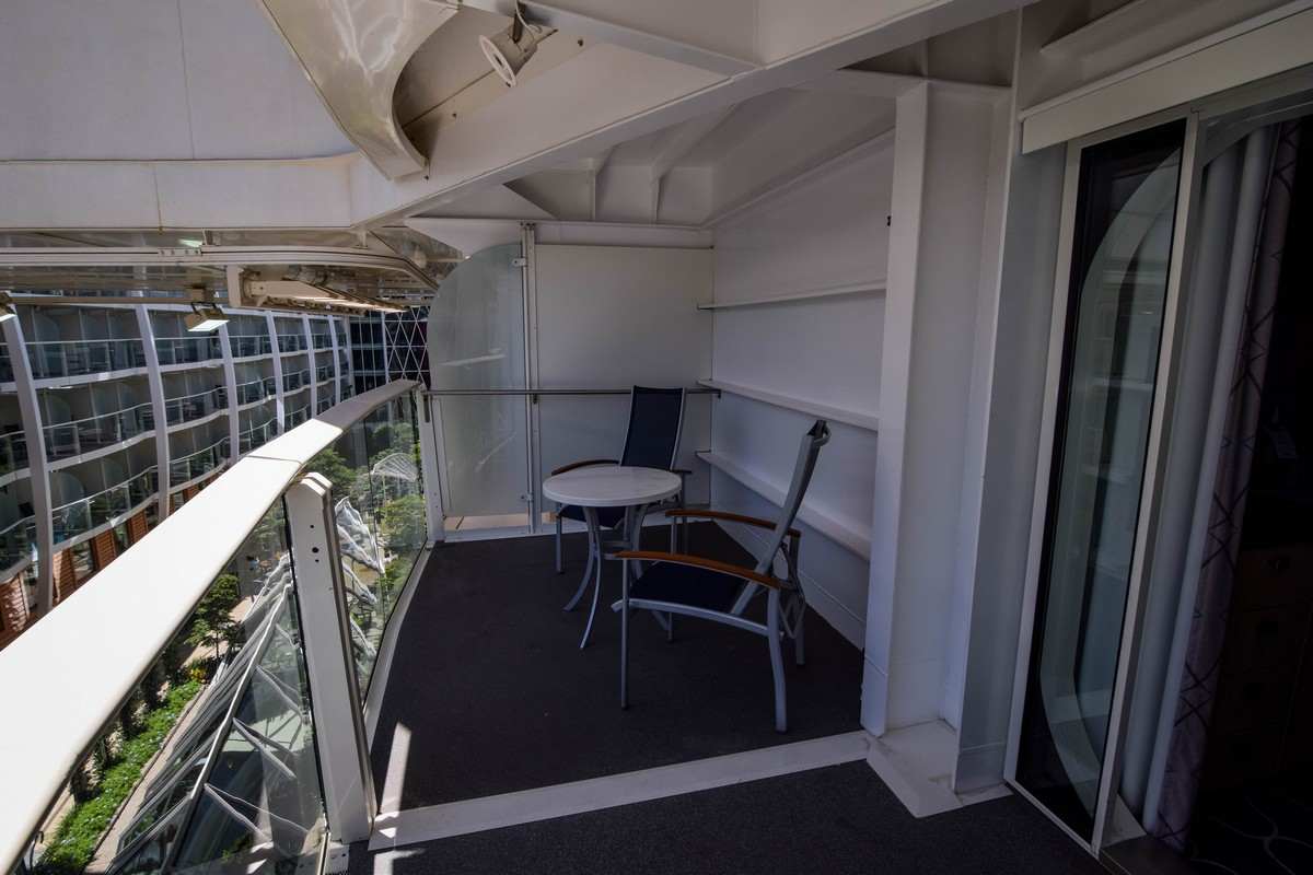 Photo tour of category 2j central park view balcony for Balcony lounge