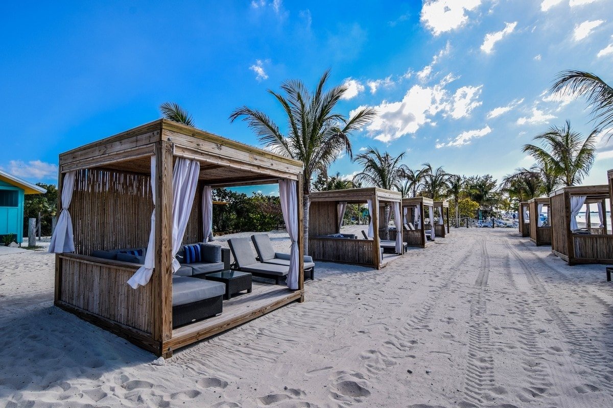 Spotlight CocoCay Beach Bungalows