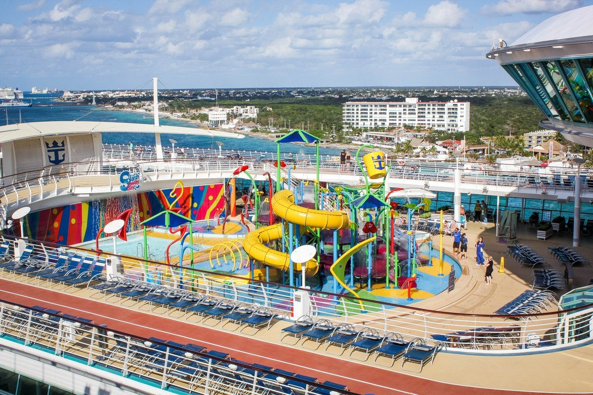 Liberty of the seas royal caribbean blog liberty of the seas is one of the few royal caribbean ships to offer its guests the cruise lines newest take on aquatic adventure park baanklon Gallery