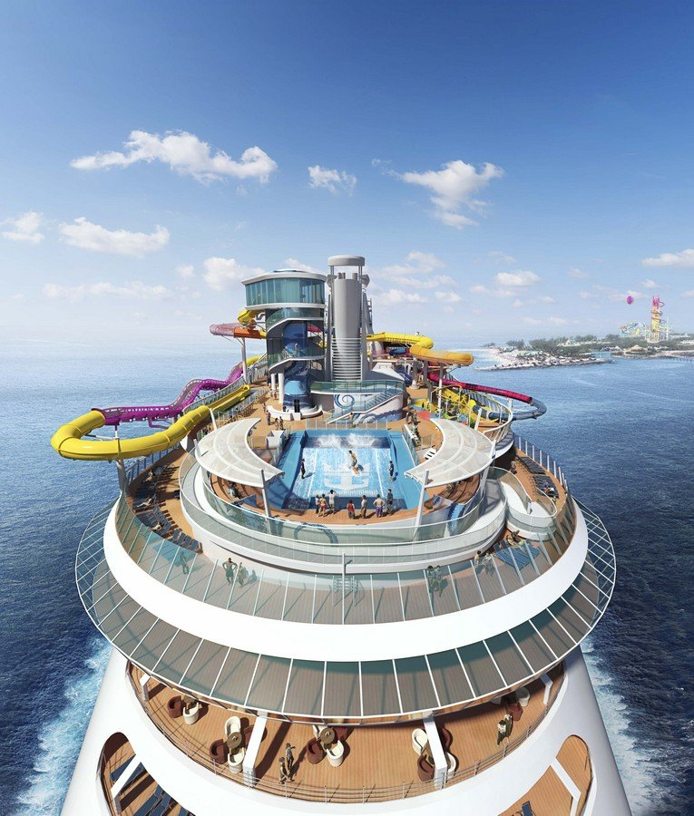 Navigator Of The Seas Will Get New Water Slides