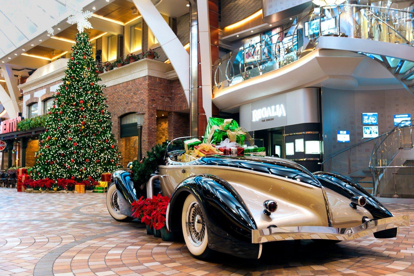 Royal Caribbean Cruise December 2021 Christmas How Royal Caribbean Celebrates Christmas And New Years Holidays On Its Cruise Ships Royal Caribbean Blog