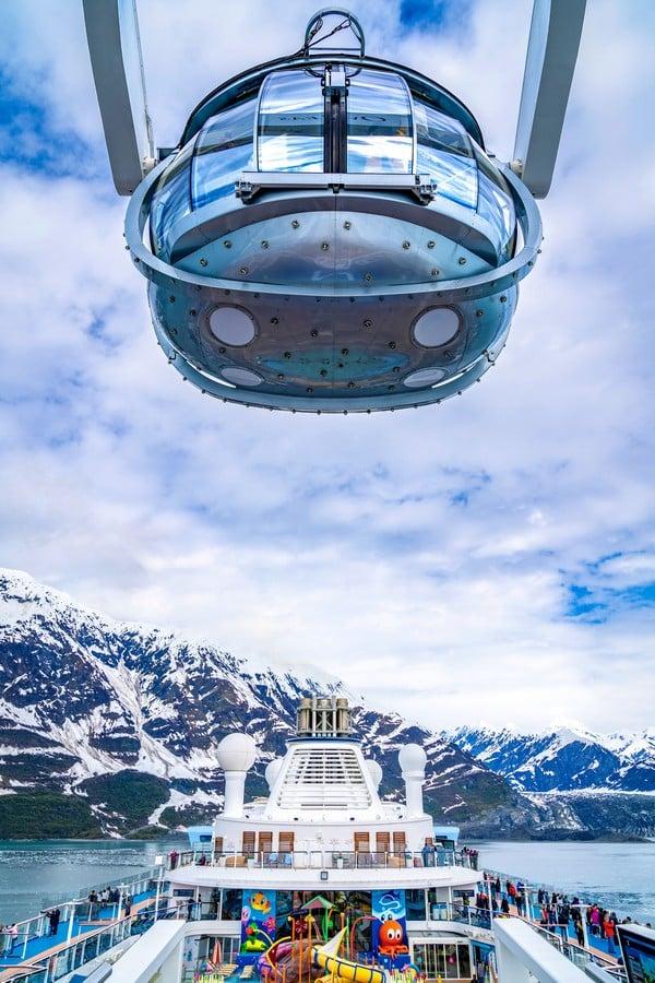 First Look: Ovation Of The Seas Visits Alaska Glaciers