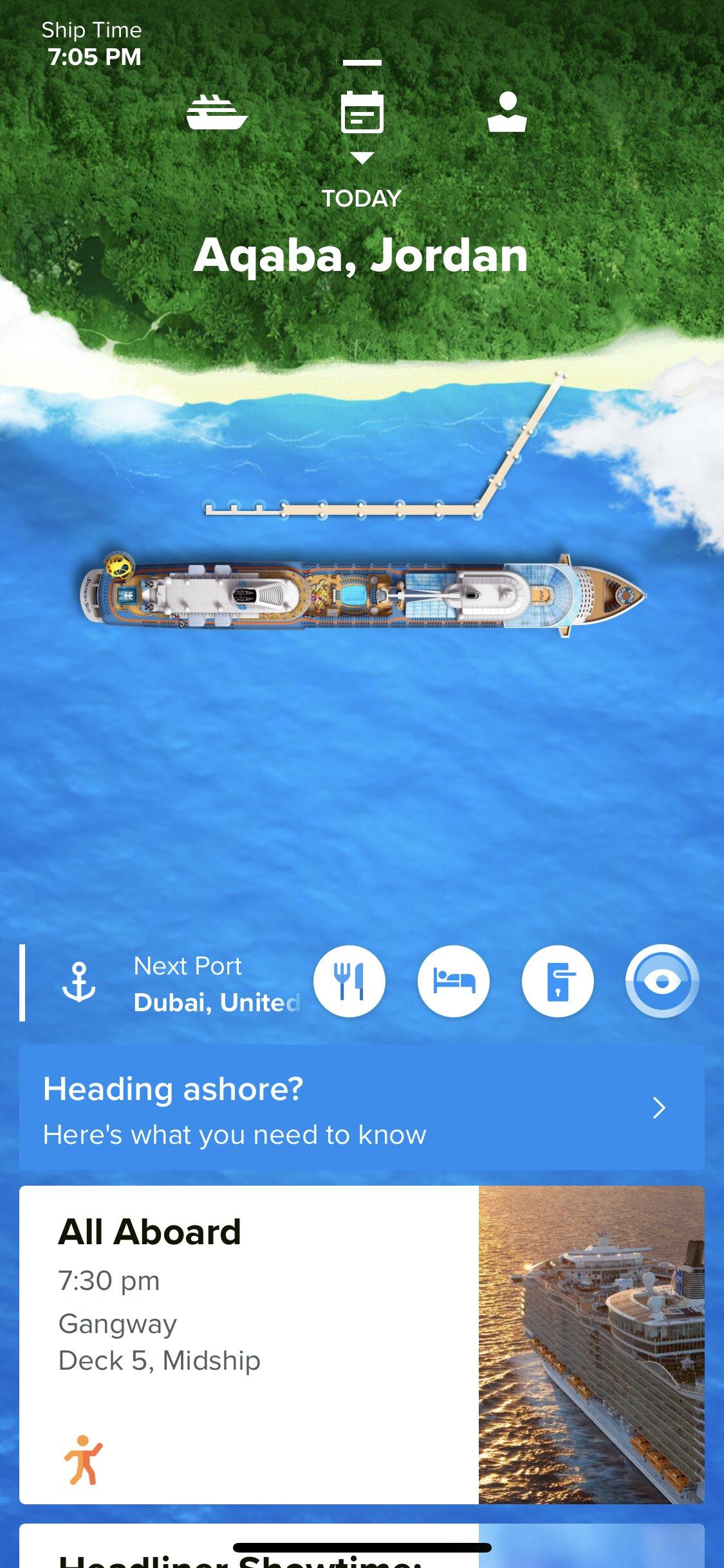 Smart phone app   Royal Caribbean Blog