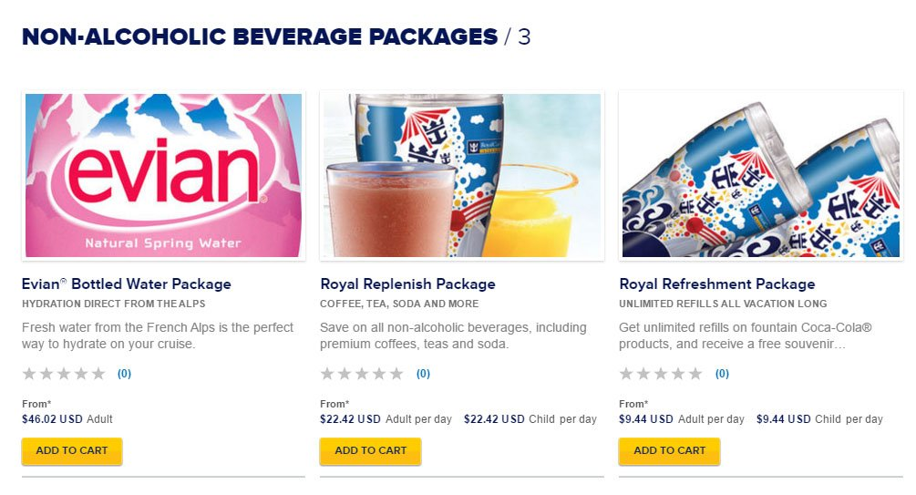 Royal Caribbean Raising Prices Of Unlimited Drink Packages Royal - Allure of the seas drink package