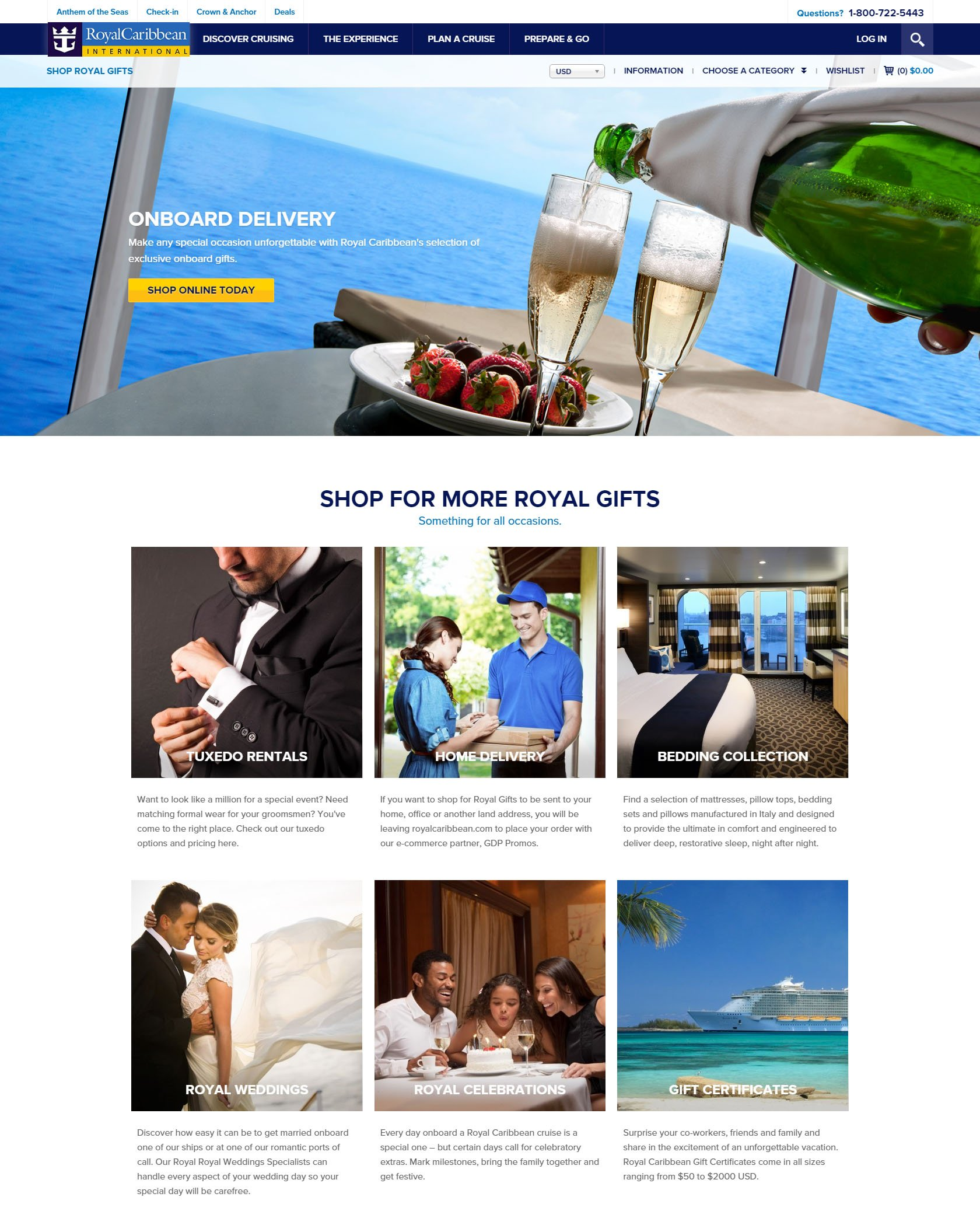Gifts royal caribbean blog as part of royal caribbeans overall redesign of their web site the royal gifts section of the site now has a new look to go with the new name xflitez Images
