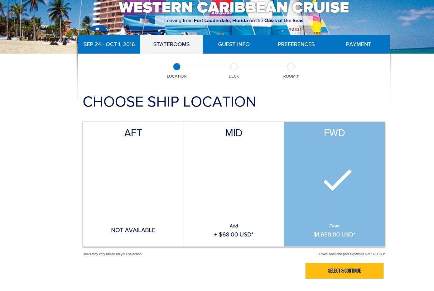 Website Royal Caribbean Blog