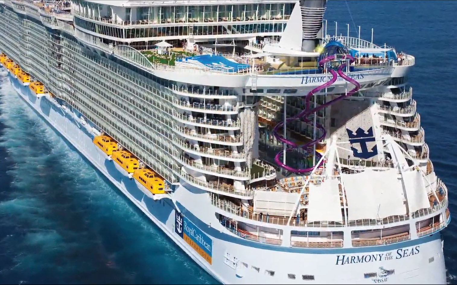Explore The Beauty Of Caribbean: Royal Caribbean Reveals Ultimate Abyss 10 Story Slide