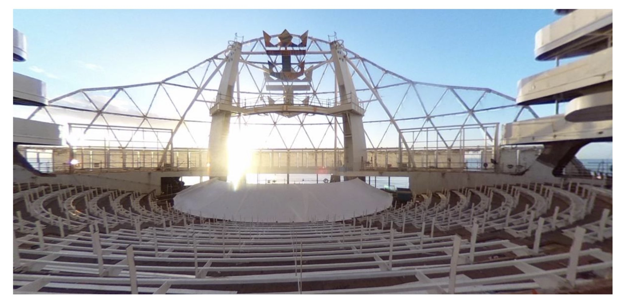First Look At Aquatheater On Royal Caribbean S Wonder Of The Seas Royal Caribbean Blog