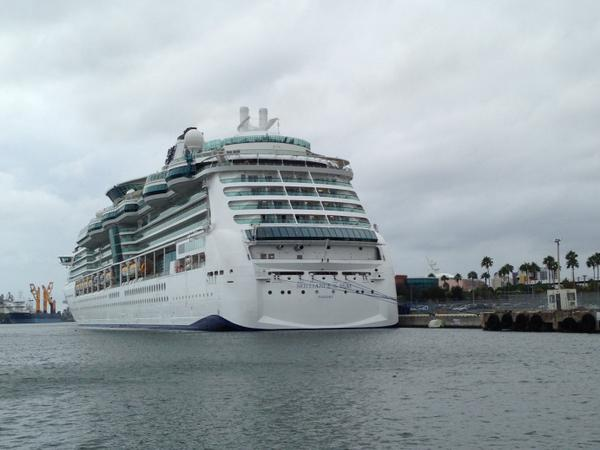 Fog Delays Royal Caribbeans Brilliance Of The Seas Return To - Cruise ship delayed
