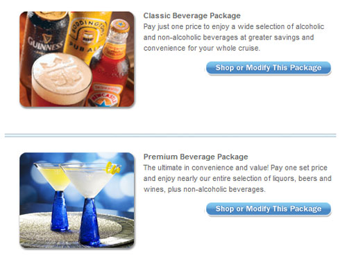 Royal Caribbean Unlimited Alcohol Package Now Available For Prepurchase Onli