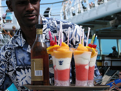 Beach Mixed Drinks