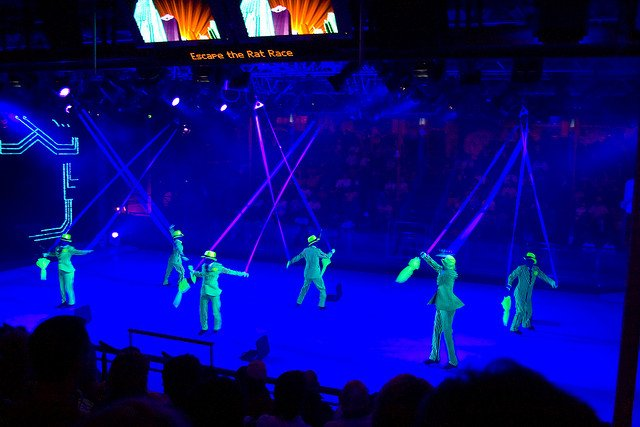 Freedom Ice Com Ice Skating Show Review Royal Caribbean Blog