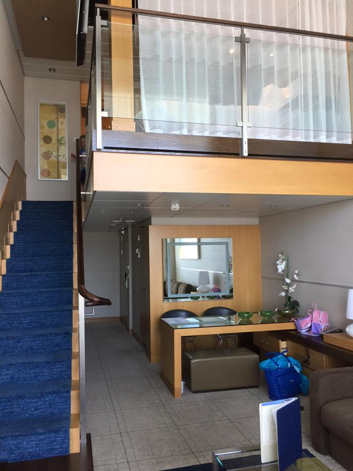Photo Tour Of Loft Suite On Royal Caribbean S Oasis Of The