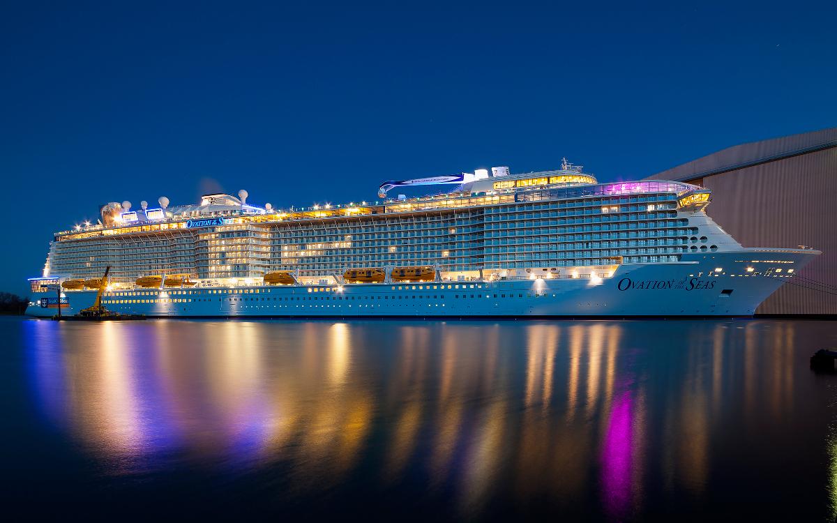 5 Beautiful Royal Caribbean Ovation Of The Seas Photos