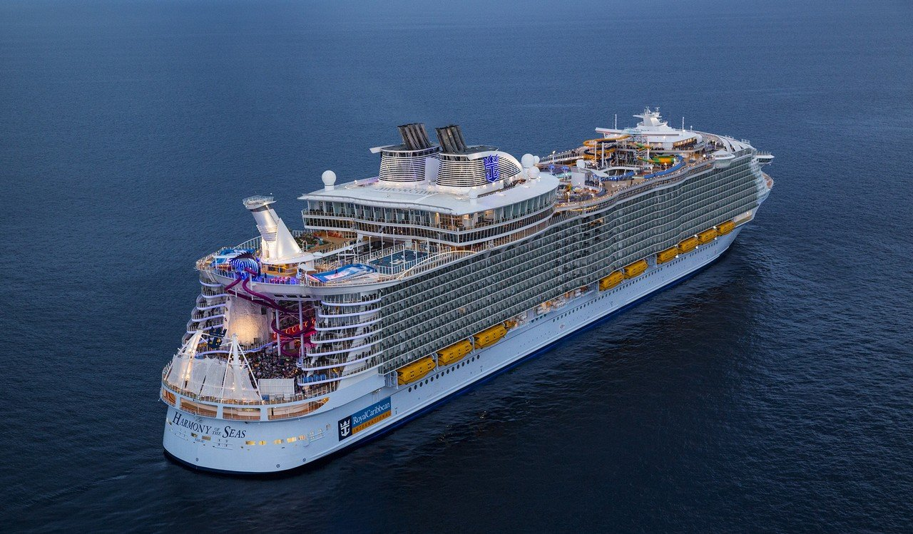 Fun Facts About Royal Caribbeans Harmony Of The Seas Royal - Cruise ship gas mileage