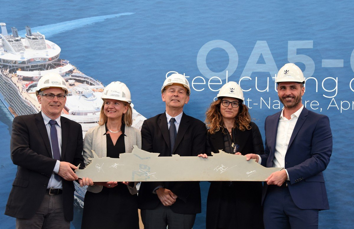 Royal Caribbean begins construction of fifth Oasis Class cruise ship