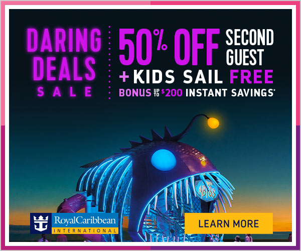 Royal Caribbean Offering Off Second Passenger Plus Kids Sail - Kids sail free