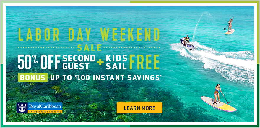 Kids Sail Free With Royal Caribbean S Labor Day Weekend