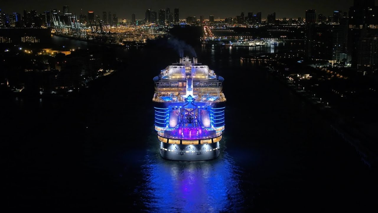 Video Symphony Of The Seas Arrives Home To Miami Royal Caribbean Blog