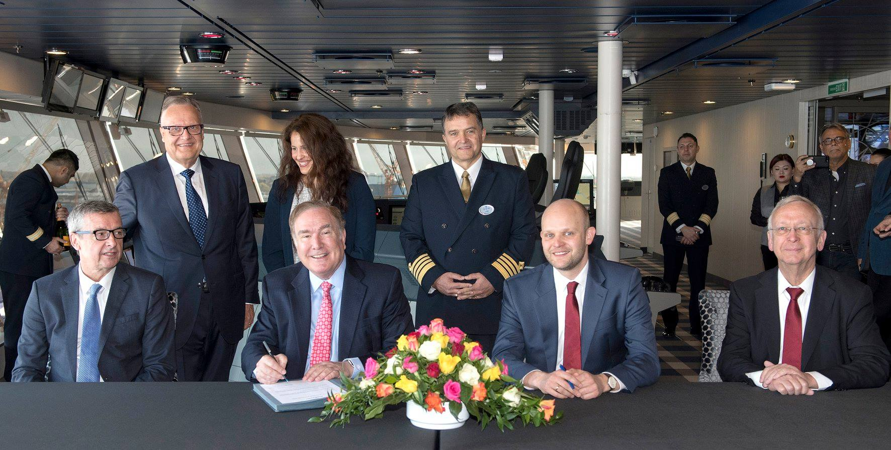 Spectrum of the Seas joins Royal Caribbean's fleet following delivery ceremony
