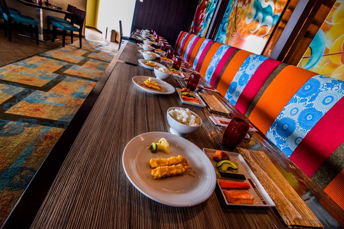 Experiences: Izumi Sushi Making Class On Royal Caribbean