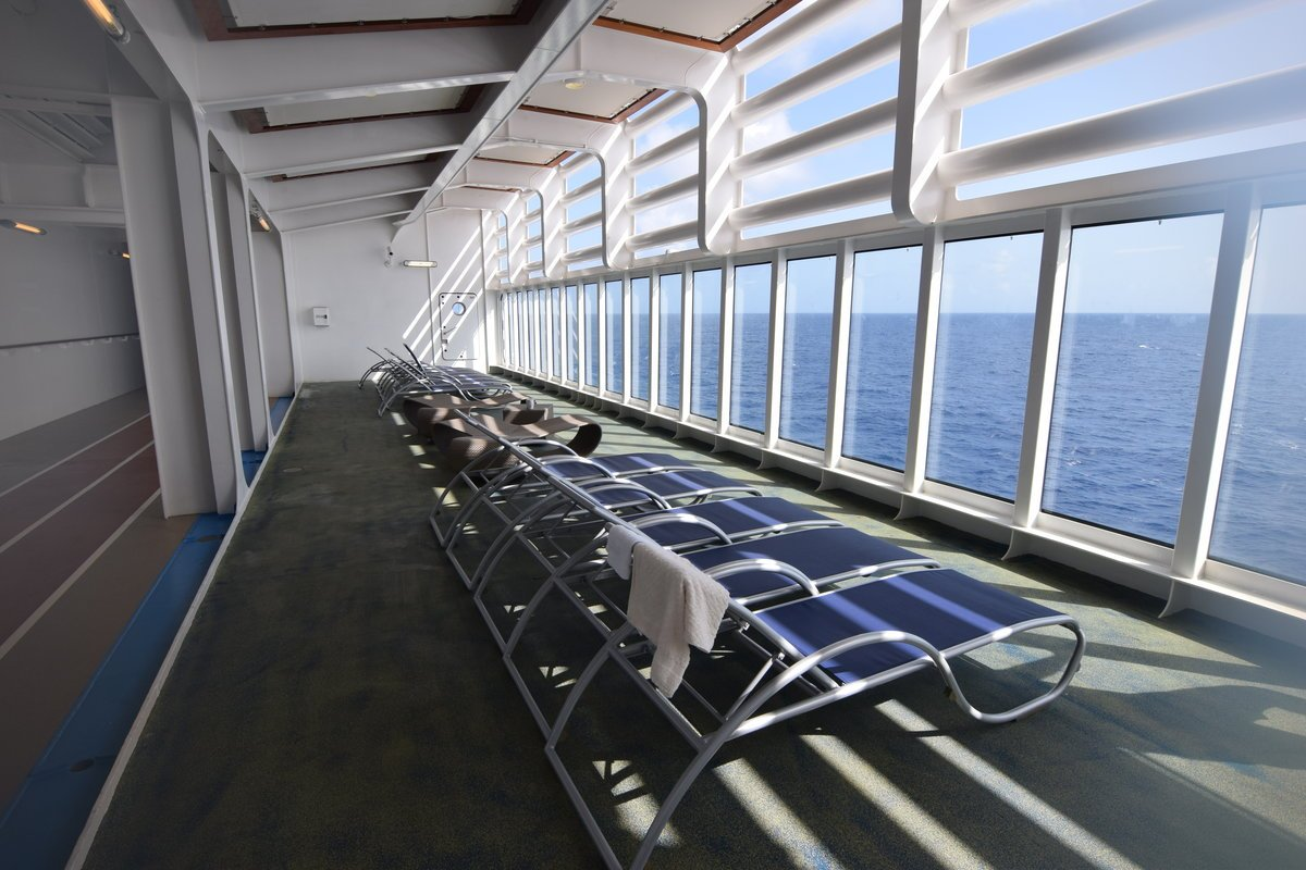 Royal Caribbean Secrets Hidden Lounge Deck On Harmony Of