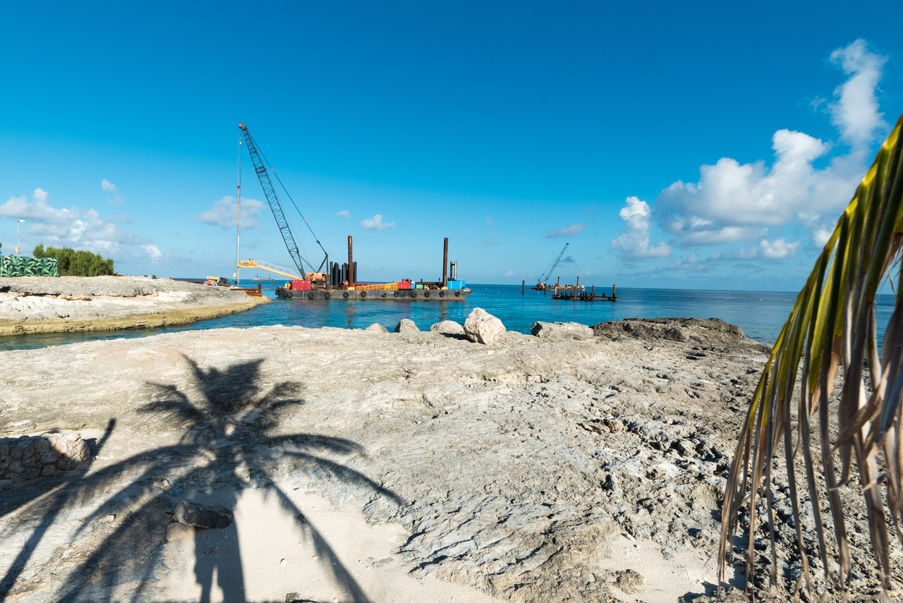 Pier Construction Photo Report From CocoCay Royal Caribbean Blog - Coco cay weather