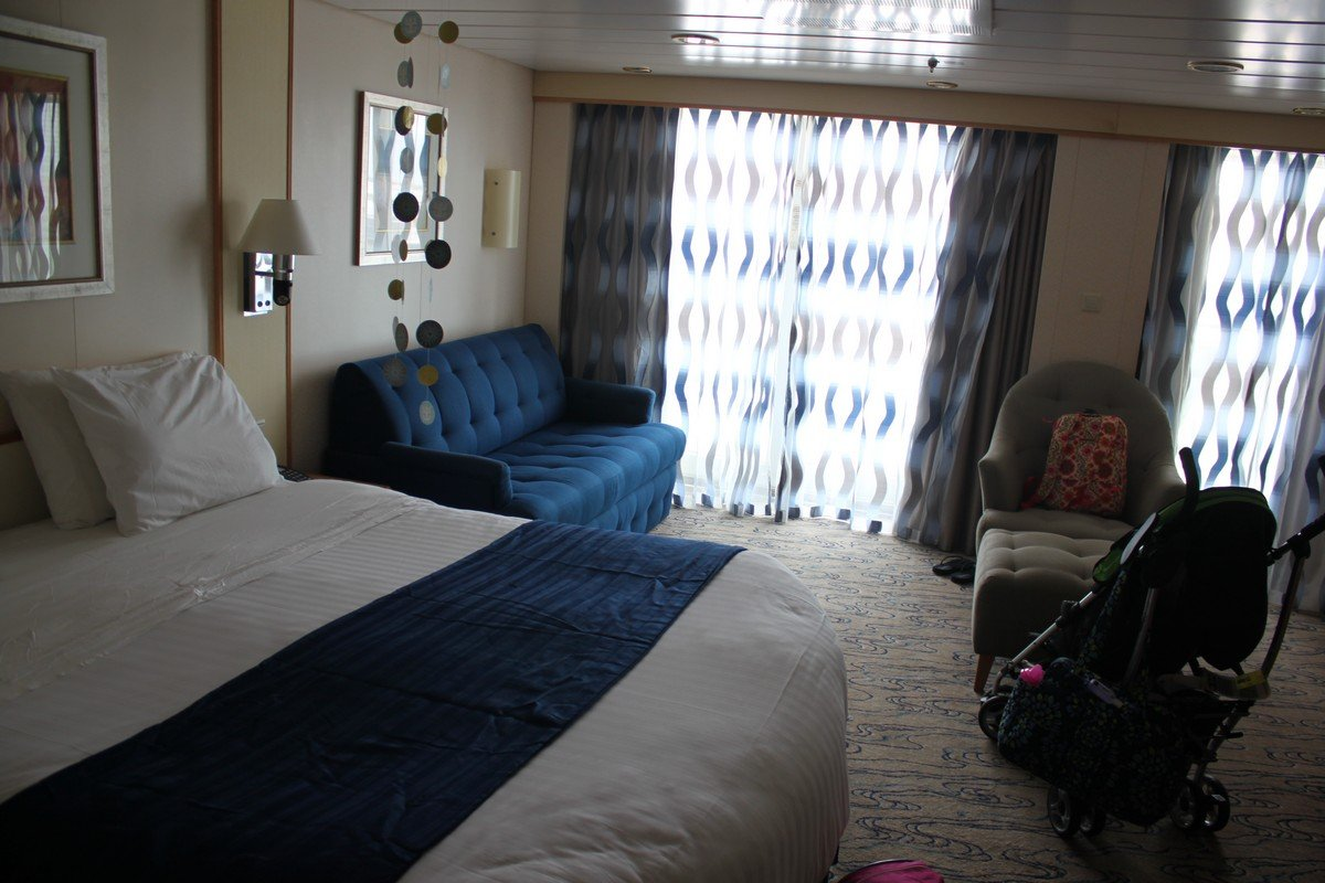 Photo Tour Of Junior Suite On Navigator Of The Seas