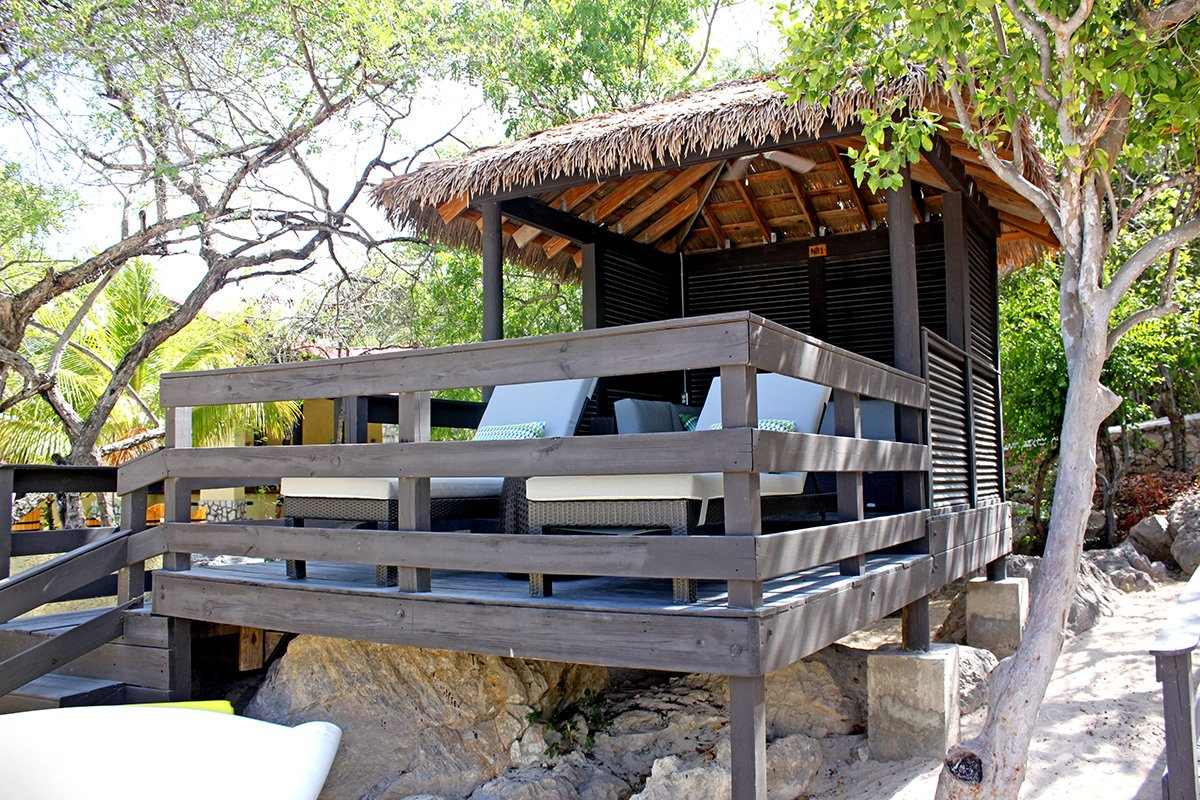 Labadee Nellie S Beach Cabana Over The Water